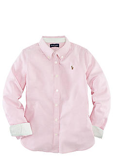 Ralph Lauren Childrenswear Kacee Oxford Shirt Girls 7-16
