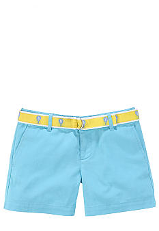 Ralph Lauren Childrenswear Preppy Chino Short Girls 7-16