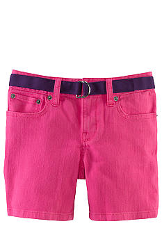 Ralph Lauren Childrenswear Neon Denim Short Girls 7-16