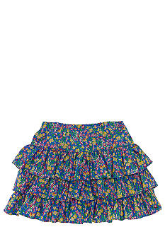 Ralph Lauren Childrenswear Floral Print Skirt Girls 7-16
