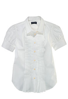 Ralph Lauren Childrenswear Cotton Broadcloth Shirt Girls 7-16