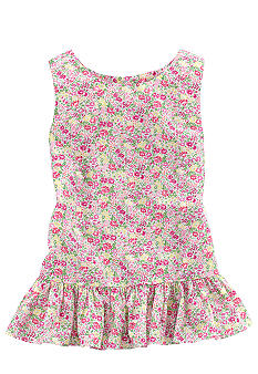 Ralph Lauren Childrenswear Floral Print Tunic Girls 7-16