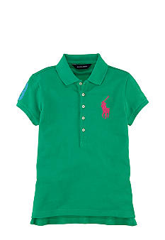 Ralph Lauren Childrenswear Sporty Patch Polo Girls 7-16