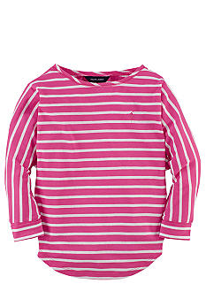 Ralph Lauren Childrenswear Striped Knit Shirt Girls 7-16