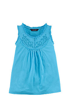 Ralph Lauren Childrenswear Floral Embroidered Tank Girls 7-16