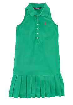 Ralph Lauren Childrenswear Pleated Polo Dress Girls 7-16