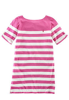 Ralph Lauren Childrenswear Striped Cotton Jersey Dress Girls 7-16
