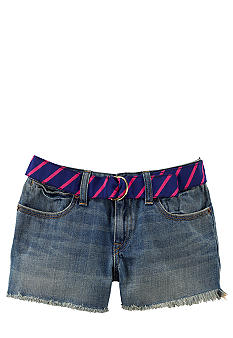 Ralph Lauren Childrenswear Cutoff Denim Short Girls 7-16