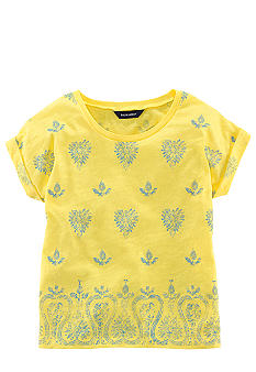 Ralph Lauren Childrenswear Paisley Print Knit Tee Girls 7-16