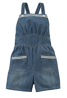 Ralph Lauren Childrenswear Denim Sailor Romper Girls 7-16