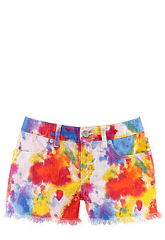 Ralph Lauren Childrenswear Paint-Splattered Denim Short Girls 7-16