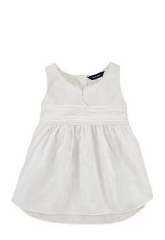 Ralph Lauren Childrenswear Dobby Tank Girls 7-16