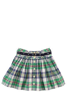 Ralph Lauren Childrenswear Preppy Plaid Skirt Girls 7-16