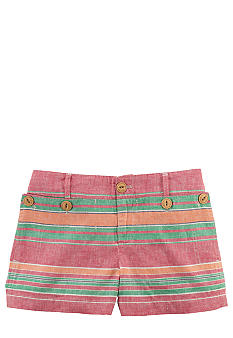 Ralph Lauren Childrenswear Nautical Linen Short Girls 7-16