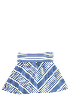 Ralph Lauren Childrenswear Diagonal Stripe Skirt Girls 7-16