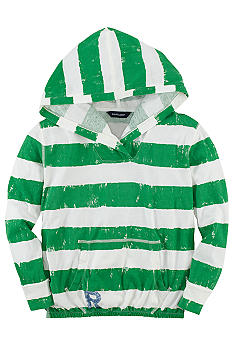 Ralph Lauren Childrenswear Striped Hoodie Girls 7-16