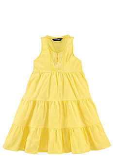 Ralph Lauren Childrenswear Tiered Drop-Waist Dress Girls 7-16
