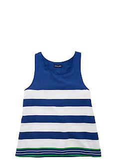 Ralph Lauren Childrenswear Contrast Stripes Tank Girls 7-16