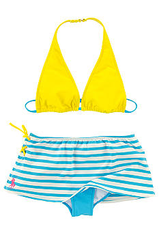 Ralph Lauren Childrenswear Stripe 2-piece Swimsuit Girls 7-16