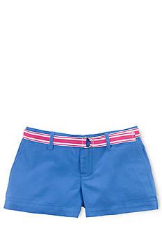 Ralph Lauren Childrenswear Tissue Chino Short Girls 7-16