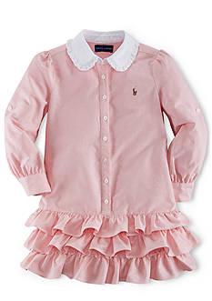 Ralph Lauren Childrenswear Oxford Dress Girls 7-16