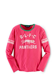 Ralph Lauren Childrenswear Varsity Inspired Tee Girls 7-16