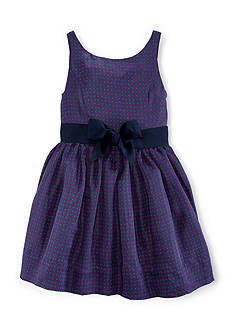Ralph Lauren Childrenswear Fit & Flare Paisley Dress Girls 7-16