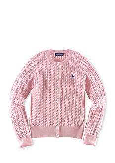 Ralph Lauren Childrenswear Cable Knit Cardigan Girls 7-16