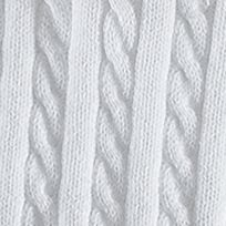 Girls Sweaters: White Ralph Lauren Childrenswear Cable Knit Cardigan Girls 7-16
