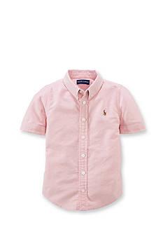 Ralph Lauren Childrenswear Short Sleeve Oxford Shirt Girls 7-16