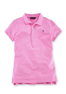 Ralph Lauren Childrenswear Short Sleeve Polo Girls 7-16