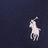 Girls Shirts: French Navy Ralph Lauren Childrenswear Short Sleeve Polo Girls 7-16