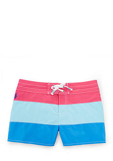 Ralph Lauren Childrenswear Color-Block Board Short Girls 7-16