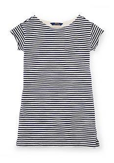 Ralph Lauren Childrenswear Stripe T-Shirt Dress Girls 7-16