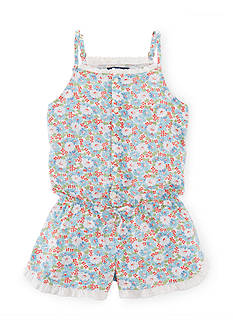 Ralph Lauren Childrenswear Floral Romper Girls 7-16