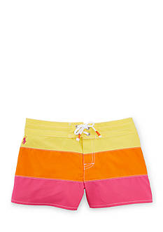 Ralph Lauren Childrenswear Stripe Board Short Girls 7-16