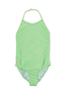 Ralph Lauren Childrenswear Halter Swimsuit Girls 7-16