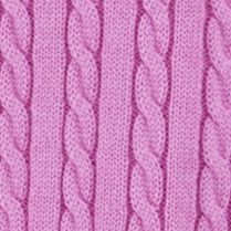 Baby & Kids: Long Sleeve Sale: Purple Ralph Lauren Childrenswear 1 MINI CABLE-SWEATER DESERT PINK