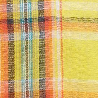Baby & Kids: Tanks Sale: Yellow Ralph Lauren Childrenswear Crinkle Gauze Plaid Top Girls 7-16
