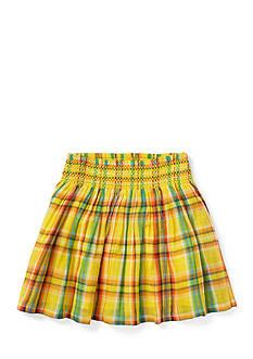 Ralph Lauren Childrenswear Plaid Skirt Girls 7-16