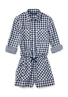 Ralph Lauren Childrenswear Gingham Romper Girls 7-16