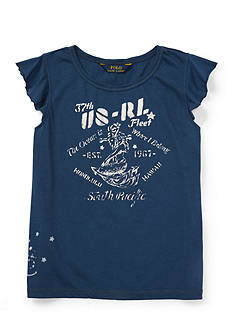 Ralph Lauren Childrenswear Graphic Tee Girls 7-16