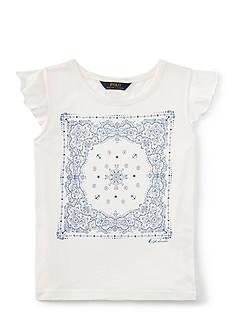 Ralph Lauren Childrenswear Graphic Tee Girls 7-16