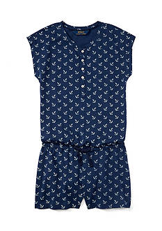 Ralph Lauren Childrenswear Anchor Romper Girls 7-16