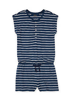 Ralph Lauren Childrenswear Stripe Romper Girls 7-16