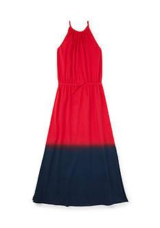 Ralph Lauren Childrenswear Dip Dye Maxi Dress Girls 7-16