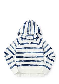 Ralph Lauren Childrenswear Magic Fleece Watercolor Top Girls 7-16