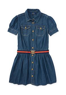 Ralph Lauren Childrenswear Denim Shirtdress Girls 7-16