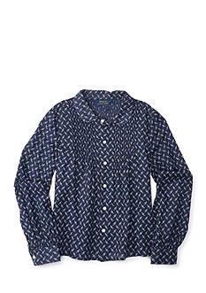 Ralph Lauren Childrenswear Floral Shirt Girls 7-16