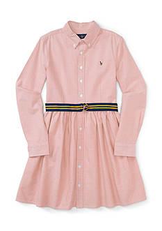 Ralph Lauren Childrenswear Oxford Dress - Girls 7-16